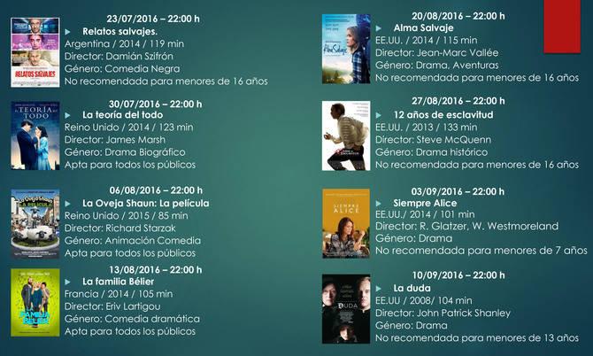 Un verano de cine, y gratis, en Hortaleza