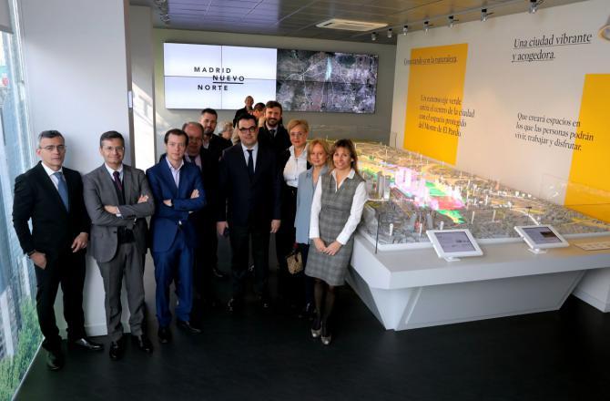 La representación de la Confederación de empresarios madrileños ha destacado la importancia de los puestos de trabajo que se generarán gracias al proyecto.