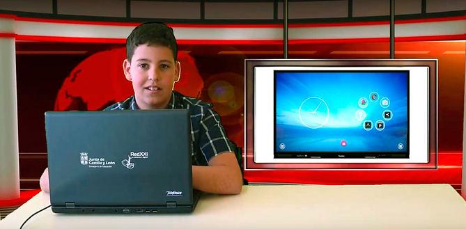 CEIP Santa Bárbara video Promethean primera convocatoria.