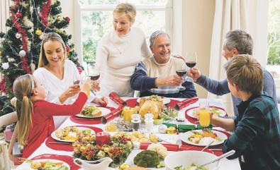 Consejos (sencillos de seguir) para cuidar la salud en Navidad