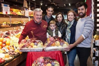 Ganadores de las cestas de frutas