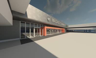 Así quedará la nueva fachada de la Estación de Chamartín tras las obras acometidas por Adif.