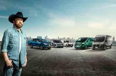 Cuando Fiat Professional llama, Chuck Norris responde