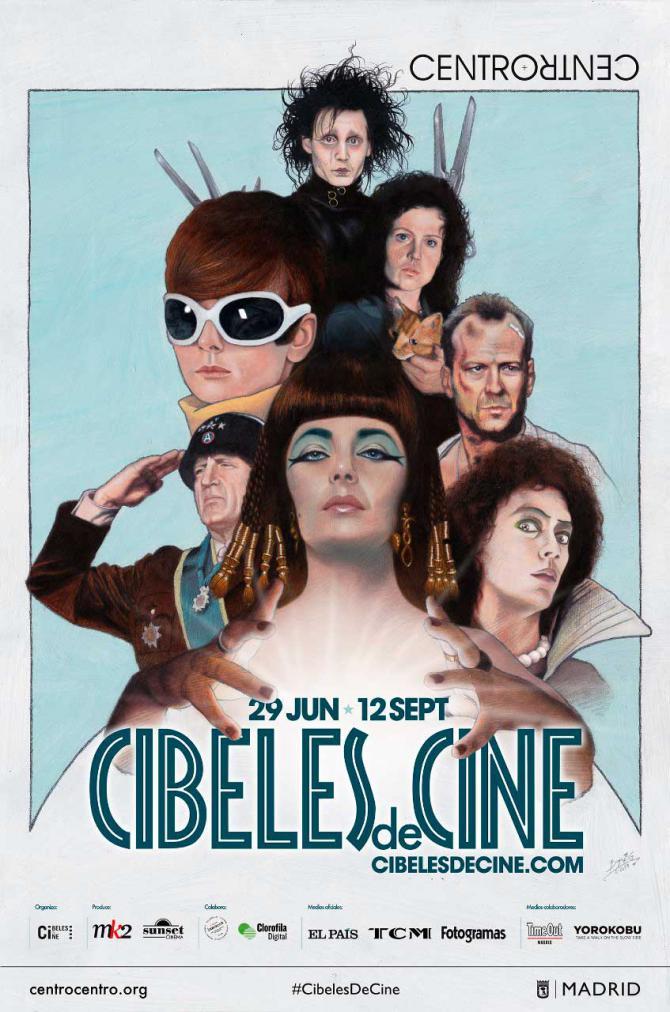 VI edición de Cibeles de Cine: vuelve el cine de verano a CentroCentro