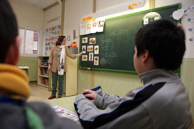 Refuerzos para las aulas