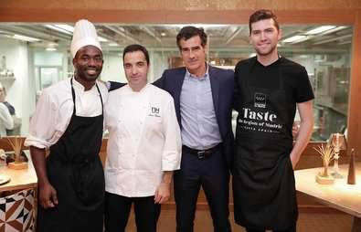 El chef de Santceloni enseña a siete cocineros norteamericanos la gastronomía madrileña