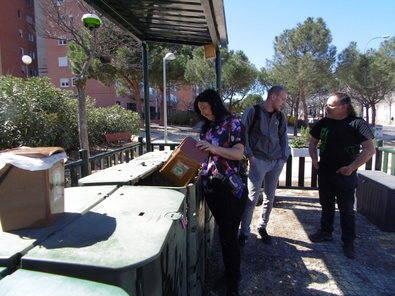 60 vecinos de Hortaleza se apuntan a compostar
