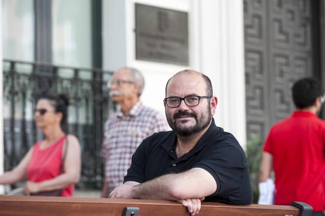 Pablo Carmona destaca en su balance tres líneas que, en su opinión, les definen: 'gobierno abierto, participación y transparencia'.