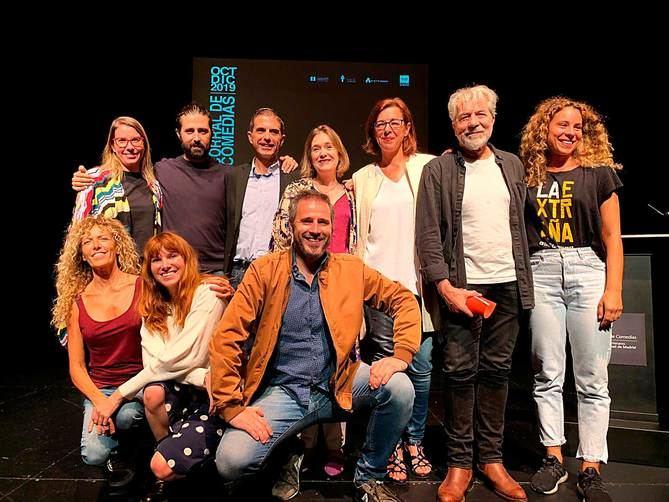 El acto ha contado con la participación de la consejera de Cultura y Turismo, Marta Rivera; el alcalde de Alcalá de Henares, Javier Rodríguez, y el director artístico del Corral, Darío Facal, entre otros.