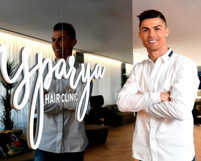 Así es la clínica de transplantes capilares de Ronaldo