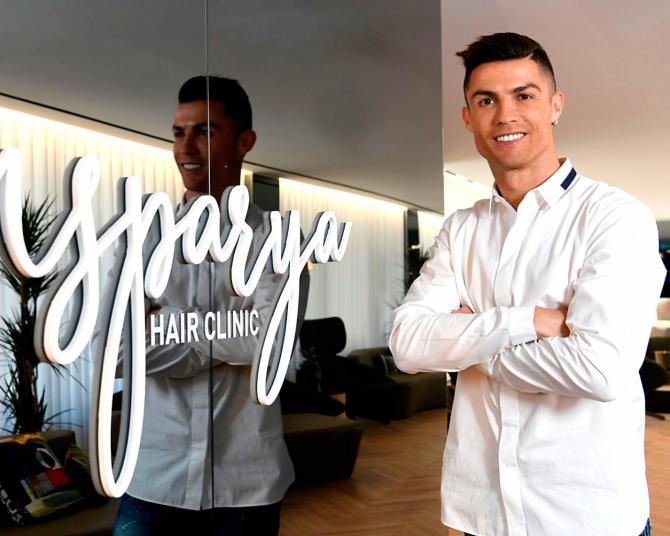 Así es la clínica de transplantes capilares de Cristiano Ronaldo en Madrid