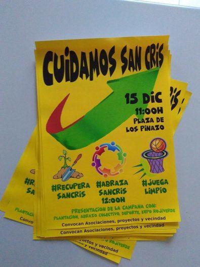 Mantenga limpio 'San Cris'