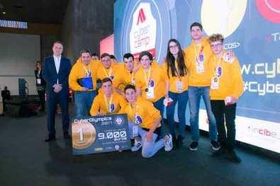 El colegio Montserrat de Madrid, medalla de plata en las III Ciberolimpiadas de centros escolares