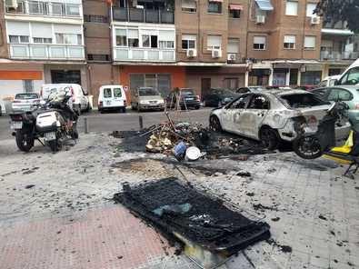 Ciudad Lineal se quema: los vecinos piden medidas contra los pirómanos
