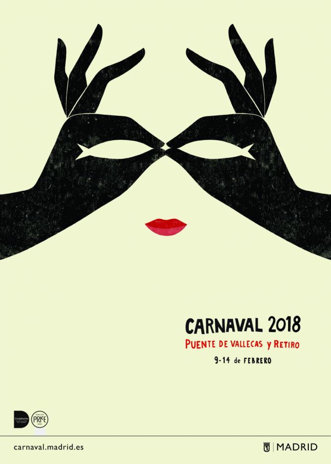 Retiro hierve por el Carnaval