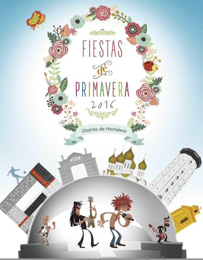 Cartel de las Fiestas de Primavera 2016