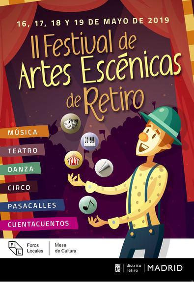 El distrito de Retiro celebra hasta el domingo su II Festival de Artes Escénicas