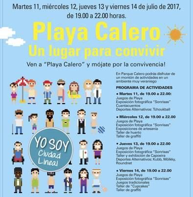 Playa Calero, escuela de verano