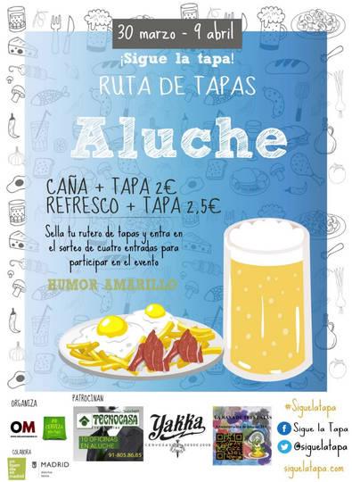 'Mega ruta' de la tapa en Aluche