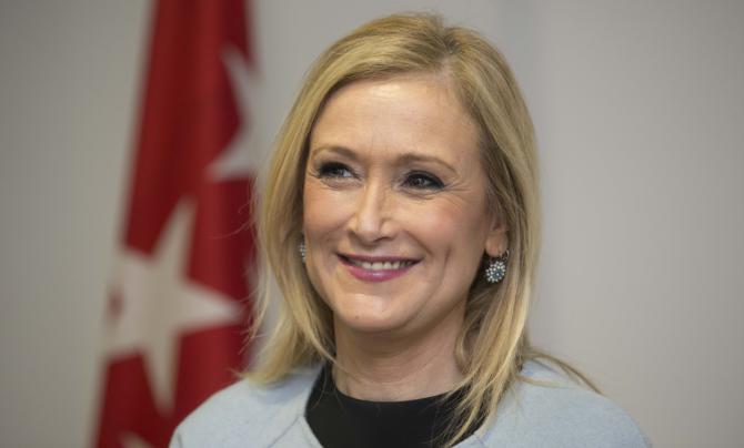 Los populares madrileños han confiado la Presidencia del partido a Cristina Cifuentes.