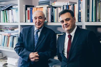 Antonio Pulido y Julián Pérez, autores del estudio.
