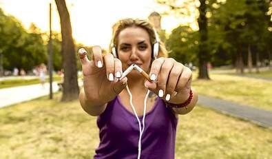 Dejar de fumar sin engordar, ¡sí, se puede!