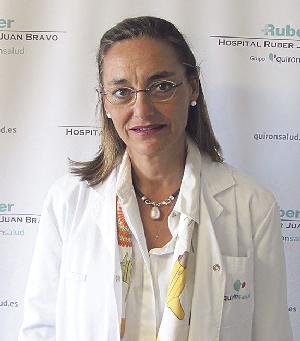 En la imagen, la Dra. Susana Gerechter, jefa del Servicio de Reumatología de Ruber Juan Bravo.