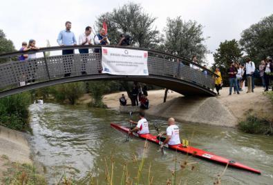 Aguado brinda su apoyo a los deportistas con discapacidad