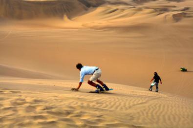 Los españoles practican deporte en sus viajes