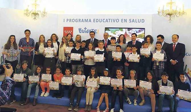 CuídatePlus ha contado con la participación de 2.700 alumnos de Educación Primaria de 18 centros públicos de la región.