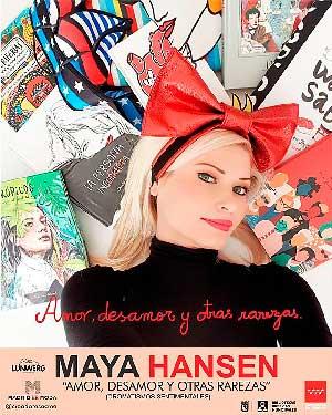 Maya Hansen salta de la pasarela a la biblioteca