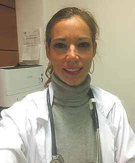 En la imagen, la Dra. Holgado,  jefa de inmuno-oncología del Instituto Oncológico Baselga.