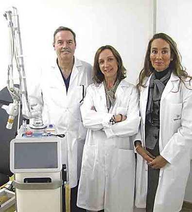 El complejo hospitalario Ruber Juan Bravo adquiere un nuevo láser ablativo de CO2