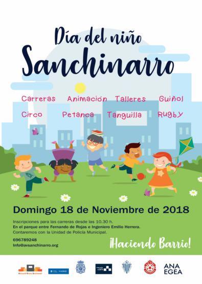 Las calles de Sanchinarro, todo el día para los niños