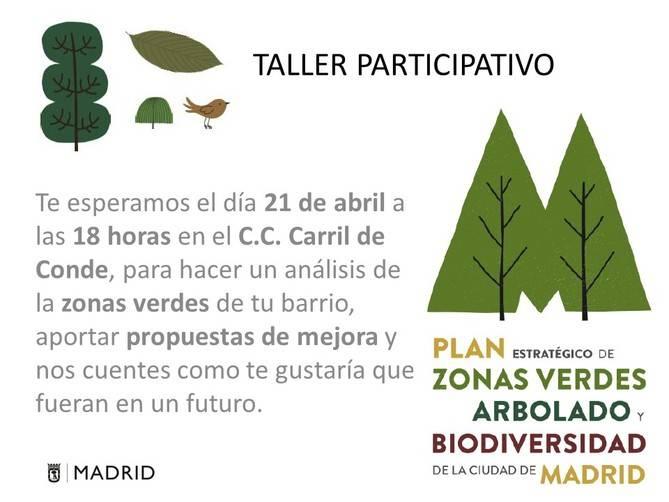 Taller 'Verde' para definir el parque ideal
