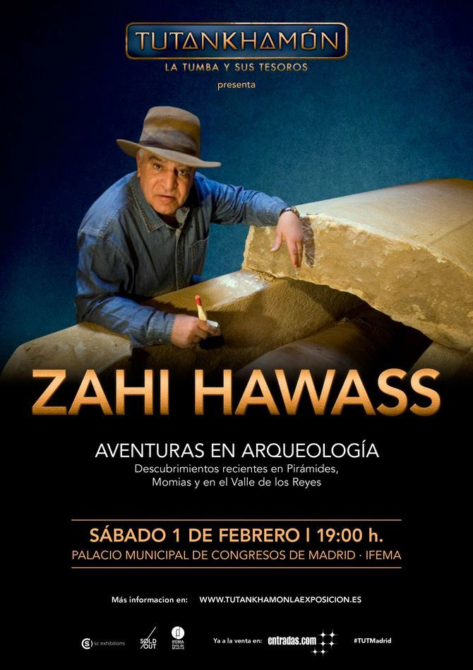 Zahi Hawass, uno de los arqueólogos egipcios más relevantes, impartirá una conferencia en febrero