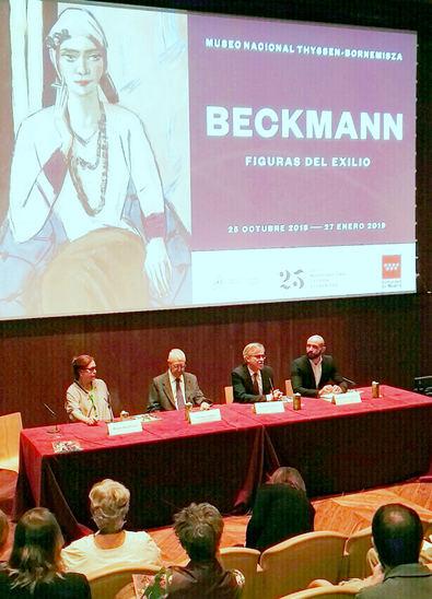 El Museo Thyssen presenta una exposición sobre el pintor Max Beckmann con la colaboración de la Comunidad de Madrid