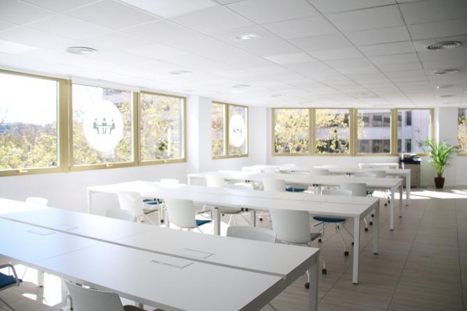 En este nuevo emplazamiento se ofrecen distintas modalidades de trabajo compartido y servicios.