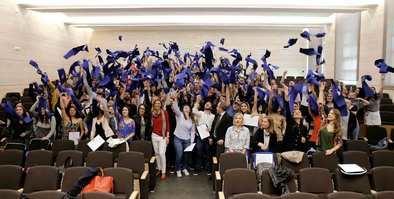 Más de 400 alumnos internacionales se despiden de la Universidad CEU San Pablo en el 'Farewell Day'