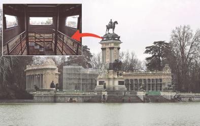 Un mirador a los pies de Alfonso XII