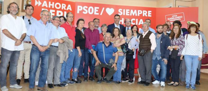 La reunión se produjo en la Agrupación Socialista de Vallecas