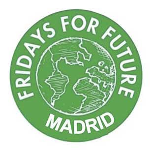 Imagen del logotipo de Fridays for Future Madrid.