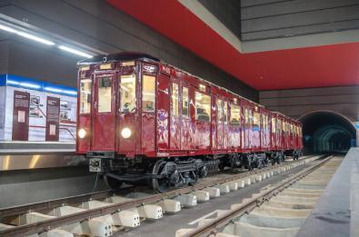 'Viaje' en un tren de 1943