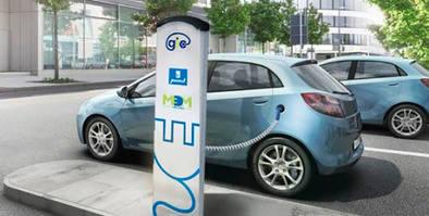 Más puntos de recarga para vehículos electricos
