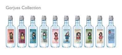 Las muñecas Gorjuss prtagonizan las nuevas botellas de Cabreiroá