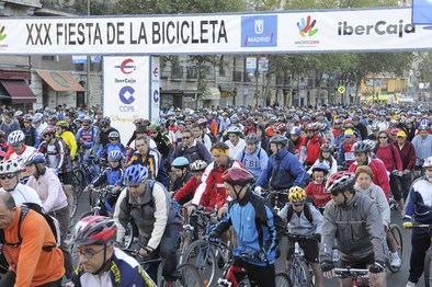 Las bicicletas tomarán la Castellana
