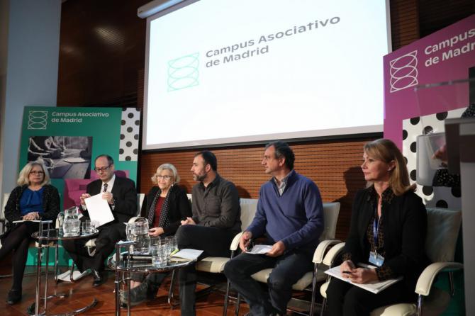 Momento de la presentación del Campus Asociativo de Madrid.