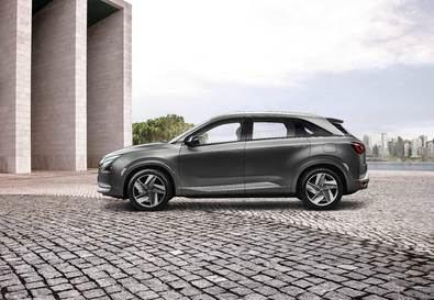 El Hyundai NEXO, protagonista en Barcelona