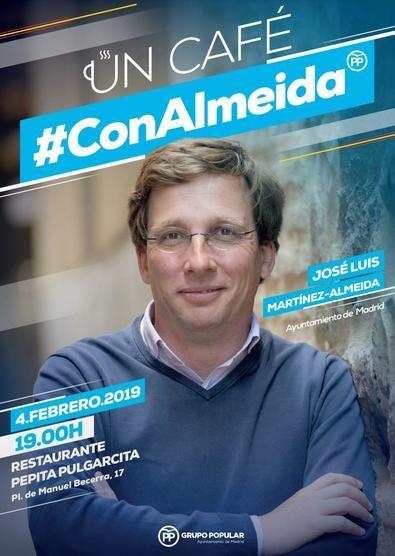 Almeida se cita con los vecinos de Salamanca
