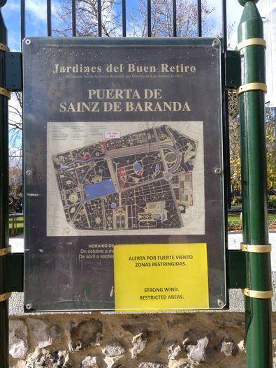 El Retiro, y otros parques históricos de la ciudad, mejorarán y endurecerán sus protocolos.
